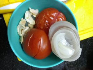 Onion Tomato paste