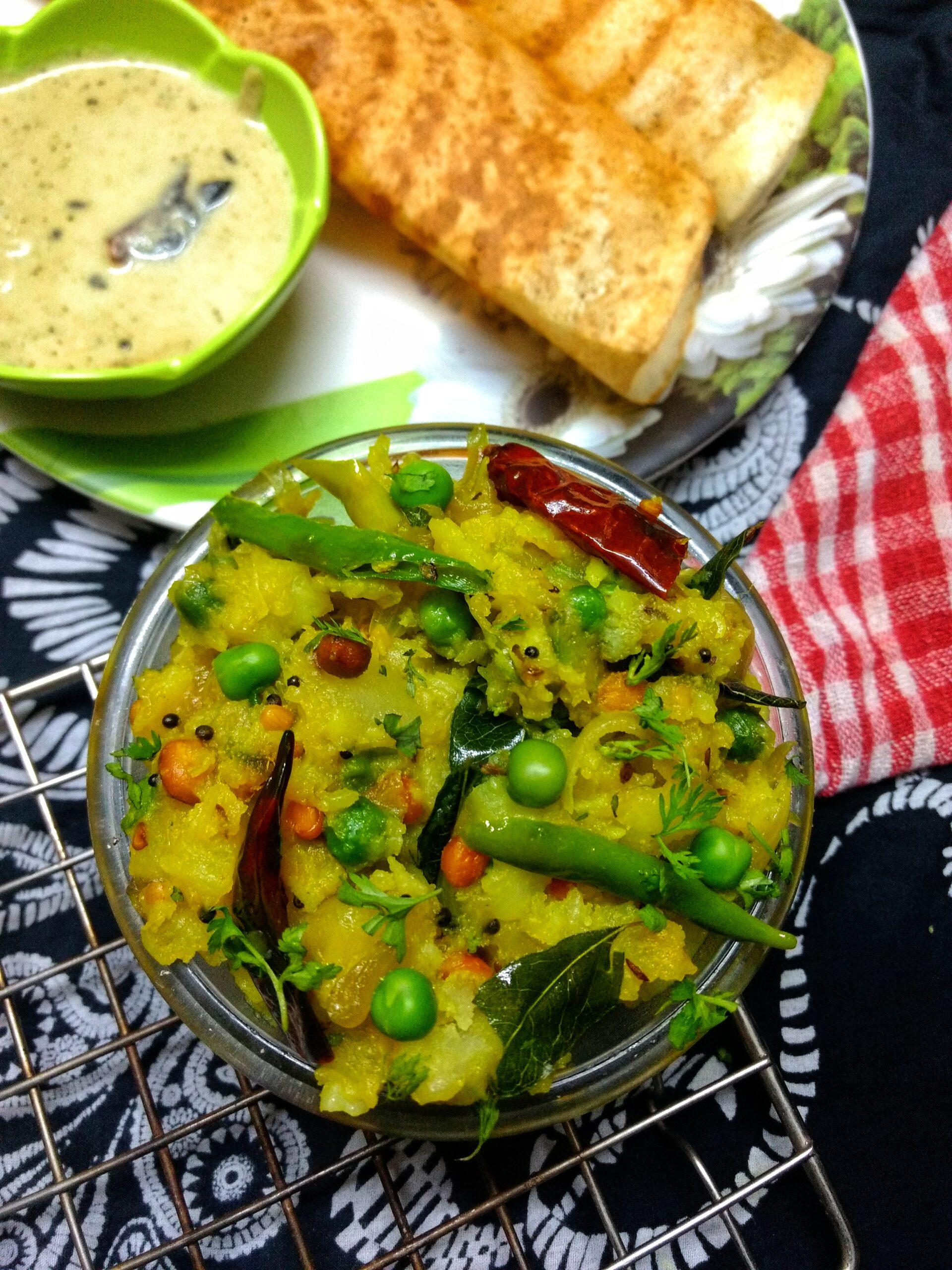 Potato Masala (Aloo Masala) recipe | Stuffing for Masala Dosa