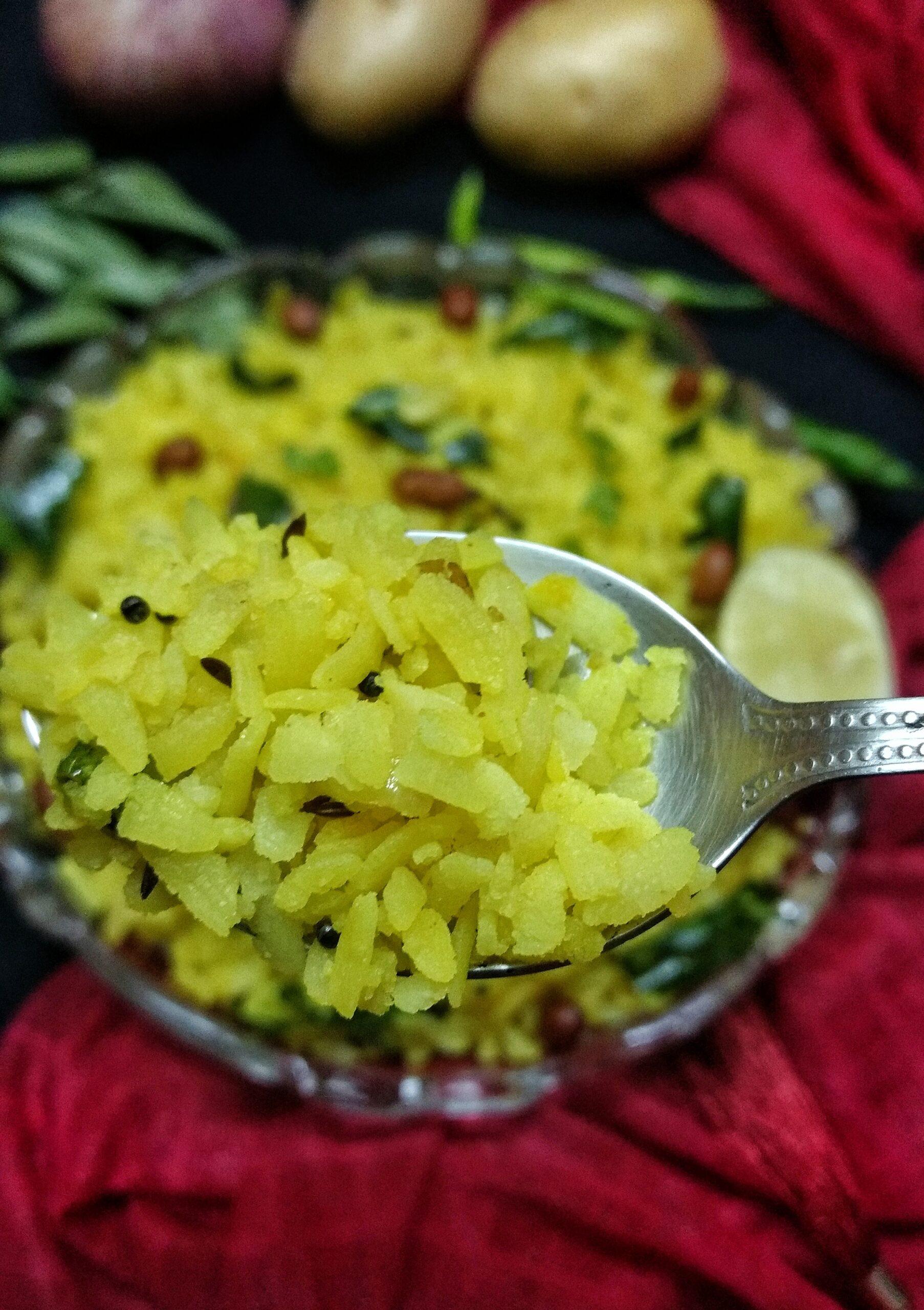 Maharastrian style Poha