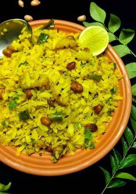 <b>Poha recipe   Kanda Batata Poha   Maharashtrian style</b>