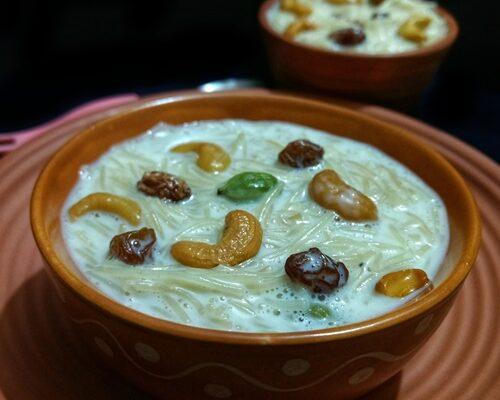 <b>Vermicelli kheer (Semiya Payasam) | Easy dessert in 20 mins</b>